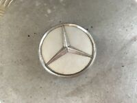 MERCEDES ALLOY WHEEL CENTRE CAP PLASTIC 75mm A B C E CLASS GENUINE 2204000125