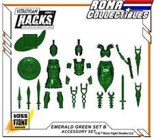 "Boss Fight Studios - EMERALD GREEN B Accessory Set - Armor Vitruvian HACKS 4"""