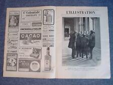 L'ILLUSTRATION 3549 DU 4/3/1911 LES CUIRASSES  LE CARNAVAL NICE  SOUDAN EGYPTIEN