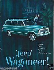 Truck Brochure - Kaiser - Jeep - Wagoneer - c1965 (T1141)