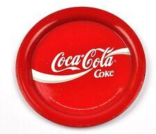 COCA-COLA COKE USA Métal Dessous De Verre coaster Ø 12 cm rouge
