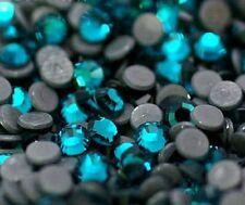 1440pcs Crystal Teal Blue Zircon Hotfix Rhinestones (10 gross) Korean Low Lead
