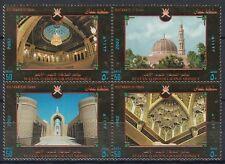 Oman 2002 ** Mi.521/24 Zdr. Sultan Qaboos Grand Mosque Sultan-Qabus-Moschee