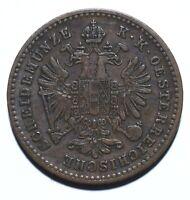 1881 Austria One 1 Kreuzer - Franz Joseph I - Lot 202
