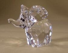 SWAROVSKI Crystal GRANDE ELEFANTE Coda SATINATA 015169 Nuovo di zecca Boxed RITIRATO RARO