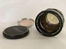 Canon 55mm f1.2 FD MF Standard Prime Lens from Japan In Excellent Condition
