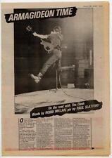 Clash The UK Interview 1980 ABC