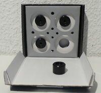 AUDIOPLAN  ANKOPPLUNG LAUTSPRECHER  ANTISPIKE SET 4x + GEWINDESTIFTE 8mm