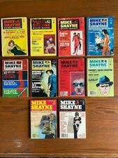 MIKE SHAYNE MYSTERY MAGAZINE DIGEST PULPS, 10 issue lot from 1970 - 1982, VG