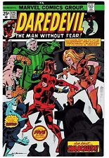 DAREDEVIL #123 (VF/NM) 1st JACK HAMMER Appearance! Classic Bronze-Age Marvel