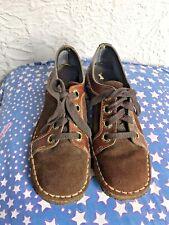 60's/70's Vintage Crepe Sole Suede Leather Lace up Shoes 6-7