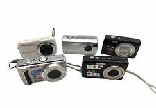 Konvolut div.  Kompakt Kameras als Ressourcenspender #73 Casio - Sony - Rollei