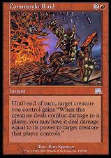 Commando Raid X4 EX/NM Onslaught MTG Magic Cards Red Uncommon
