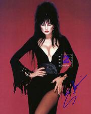 "Cassandra Peterson Elvira,Mistress of the Dark 8""x10"" Signed Color PHOTO REPRINT"