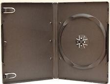 100 Standard Black Single CD DVD Case 14MM Movie Box