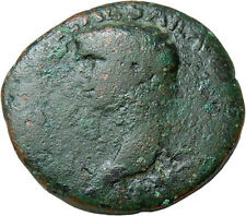 Claudius AE As / Liberty Authentic Ancient Roman Bronze Coin