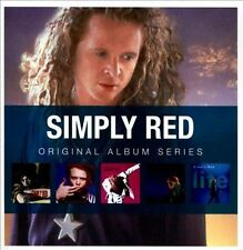 SIMPLY RED Original 5CD NEW Picture Book/Men And Women/A New Flame/Stars/Life