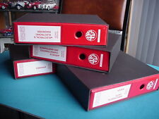 Alfa Romeo 155 Repair Manual 4 Volumes