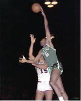8x10 Photo Basketball Bill Russell, Boston Celtics, game action!