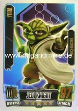 Star Wars Force Attax Serie 2 Yoda #228 Force Master