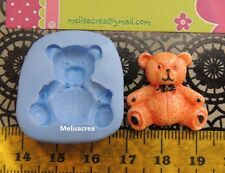 Moule Silicone Ourson N°1 pr fimo, porcelaine froide, pâte à sucre, amande, ours
