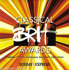 V/A - Classical Brit Awards Volume 1 (UK 12 Tk CD Album) (Sunday Express)