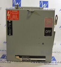 GE SB362R TYPE SB 3P 600V 60 AMP FUSIBLE BUS PLUG - USED