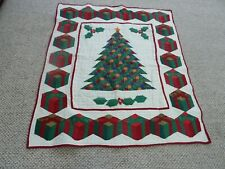Decorative Christmas Quilt (can be hung on wall)