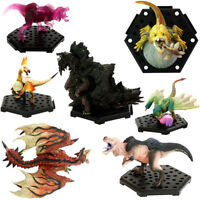 Set of 7 Capcom Builder Monster Hunter World Standard Model Plus Figure No box
