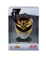 NEW SEALED Bandai Power Rangers White Ranger Legacy Helmet