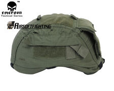 Emerson Airsoft Tactical Military MICH TC-2001 ACH Ver2 Helmet Cover with Pouch