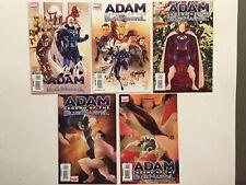 Adam Legend Of The Blue Marvel #1-2-3-4-5 Complete Full Run Lot High Grade