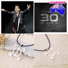 30 Seconds to Mars Band Logo Triad Geometric Shape Pendant Necklace