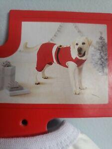Santa Suit For Dog. Size Medium