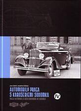 Book - Praga Sodomka Coachwork English - Automobily Praga Karoseriemi Sodomka