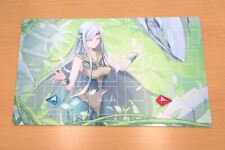 F1864+ Free Mat Bag Yugioh TCG Playmat Maiden with Eyes of Blue With Zones