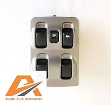 MITSUBISHI MAGNA TL / TW POWER / ELECTRIC WINDOW MAIN MASTER SWITCH 4 BUTTON