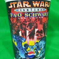 Star Wars Cantina Souvenir Plastic Cup Tumbler FAO Schwarz Mos Eialey Tatooine