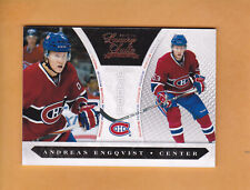 2010 11 LUXURY SUITE SP 899 ROOKIE # 244 ANDREAS ENGQVIST MONTREAL CANADIENS RC