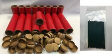 "25 Firework Shells Tubes Fuse and 50 plug 1"" x 2-1/2"" x 1/8"" Thick Walled Salute"