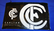 New WT Carlton Blues Official AFL Football footy Pencil Case Name Insert 21x14cm