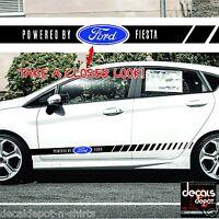 Decal Vinyl Fits FORD Fiesta MK6, ST, LX, Club 2005 to 2019 Any Fiesta Models