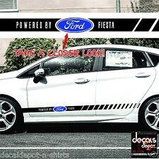 Decal Vinyl Fits FORD Fiesta MK6, ST, LX, Club 2005 to 2015 Any Fiesta Models