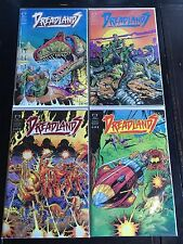 DREADLANDS #1 2 3 4 COMPLETE FULL SET HIGH GRADE EPIC COMICS