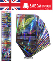 100PCS (60EX + 20 MEGA EX + 20 GX) POKEMON cards TCG Flash HOLO Trading cards