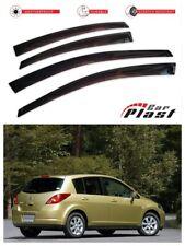 For Nissan Tiida HB 2004-2014 Window Deflector Visor Vent Rain Wind Guard