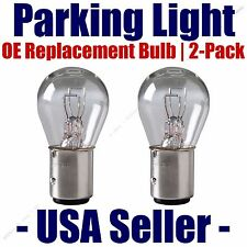 Parking Light Bulb 2-pack OE Replacement Fits Listed Opel Vehicles 1034