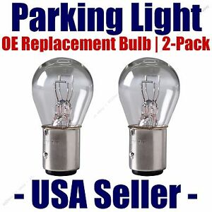 Parking Light Bulb 2-pack OE Replacement Fits Listed Ford Vehicles 1034