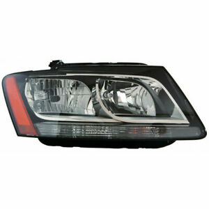 FITS FOR AUDI Q5 2009 2010 2011 2012 HEADLIGHT HALOGEN RIGHT PASSENGER