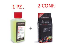 Carbone Lotusgrill 1 GEL + 2 CARBONE CARBONELLA LOTUS GRILL LOTUSGRILL